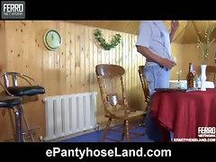 Nora pantyhose tease video
