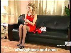 Rosa&Joanna horny pantyhose movie