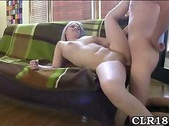 College slut sucks dick