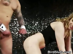 Dirty Girls Fucking The Strippers At Stagette party