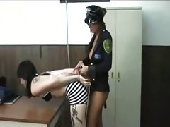 Whore arrested in jail