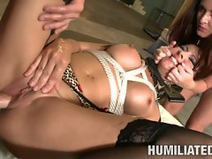 Submissive Maria Bellucci getting fucked rough and hard she can't help moaning