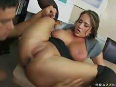 Trina Michaels feels every inch of this thick boner up her tight little shithole