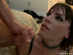Dana DeArmond gets rammed anally and gets sprayed in face