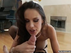 Mckenzie Lee gets all about the dick in the mouth super storm