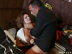 Deaxuma loves to fuck a young cock in her mouth like the MILF that she is
