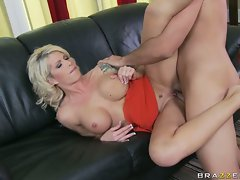 Brooke Haven takes a massive cock into her tight hole