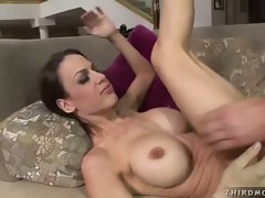 Big titted hardcore whore Mckenzie Lee sucks a cock like its candy