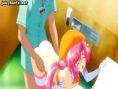 Sweet anime doing deeptroath
