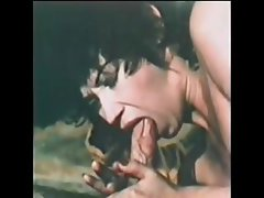 Classic porn with Mrs. Jones bathing and blowing and getting banged