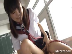 BJ and doggie fucking with asian