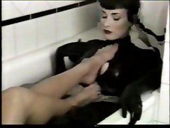 Choice fast-fannies with lacy hootchies make lesbian whoopee