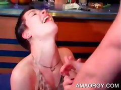 Hot strippers fucking party chicks