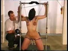 Absorbing masked thrill dame with a patient fuzzy taco gets some pain from her master