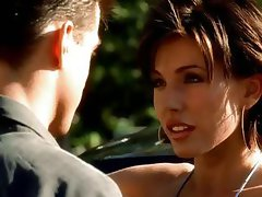 Tough short-heeled wench with a sinful love box, Krista Allen, heats up the screen