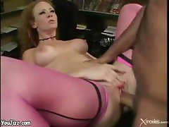 Audrey Hollander Fucked In Porn Office