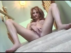 Smoking hot chick fucked on the stairs