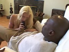 White pornstar Devon Lee going all black