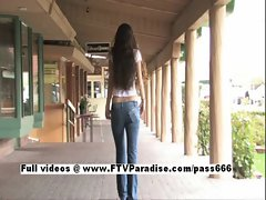 Carina Tender Girl Flashing In Public