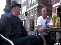 Tourist wants to get an Amsterdam hooker