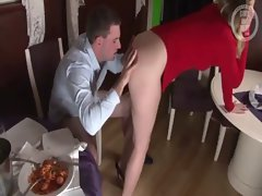 Dine and fuck couple