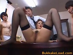 Aya Matsuki sexy real asian doll in work
