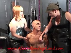 Pierce Your Cock Threat FemDom Threesome Dominatrix Mistress