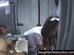 Japanese teen japanese daughter nightmare