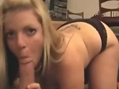 Hot blonde with big ass enjoys hard cock