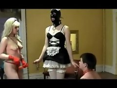 Femdom Strapon And Cuckold