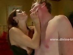 Busty horny and dirty diva femdom sex