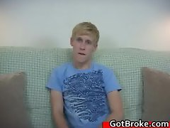 Blond Aiden masturbating gay porn part6