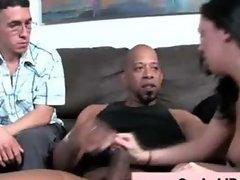 Femdom cuckold bitch gets fucked