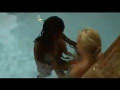Swedish lesbians Jennifer Blomberg and a blonde