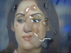 Gman Cum on Face of a Sexy Pakistani TV Star Gharida Farooqi