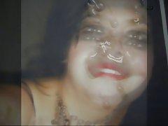 Gman Cum on Face of a Sexy Latina Slut (tribute)