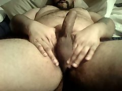 Uncut Bear Big Hairy Belly