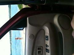 Flashing in car #2