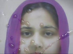 Gman Cum on Face of a Sexy Indian Slut in Hijab (tribute)