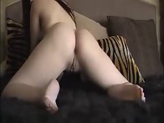 Teen Masturbates on Mom and Dads Bed