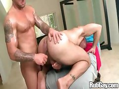 Rubgay Hard Cock Massage