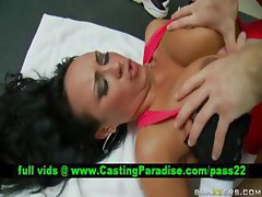 Mariah Milano horny brunette pounded