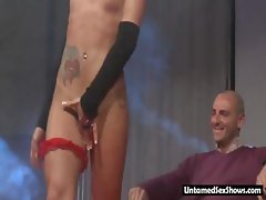 Hot stripper with a surprise