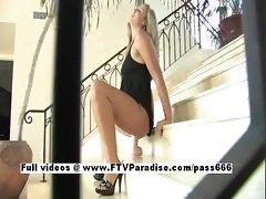 Pamela tender horny woman toying