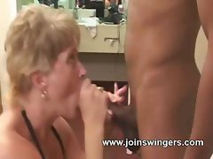 Interracial swinger twosome