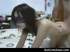 Blindfolded Filipina wife fucked part2