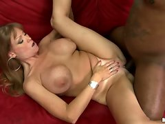 Hot momma Darla Crane takes a monster doinker banging her hole until she cums