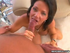 Horny hot Deauxma always liked getting her mouth creamed after an awesome bang
