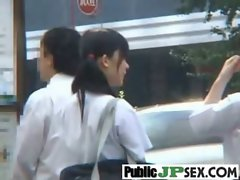 Japanese Girl Get Banged Hard Outdoor clip-36