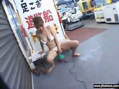Asian Girls Flashing and Getting Fucked clip-18
